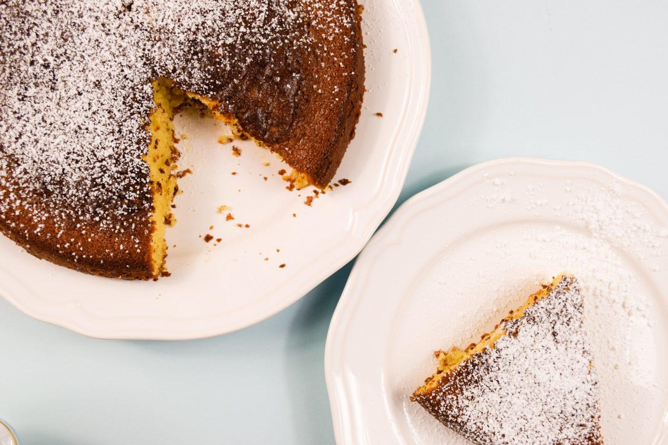 Κέικ με 6 υλικά