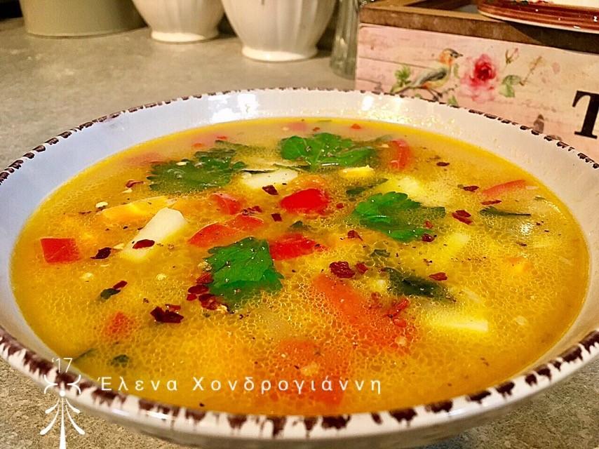 Σούπα με πλιγούρι