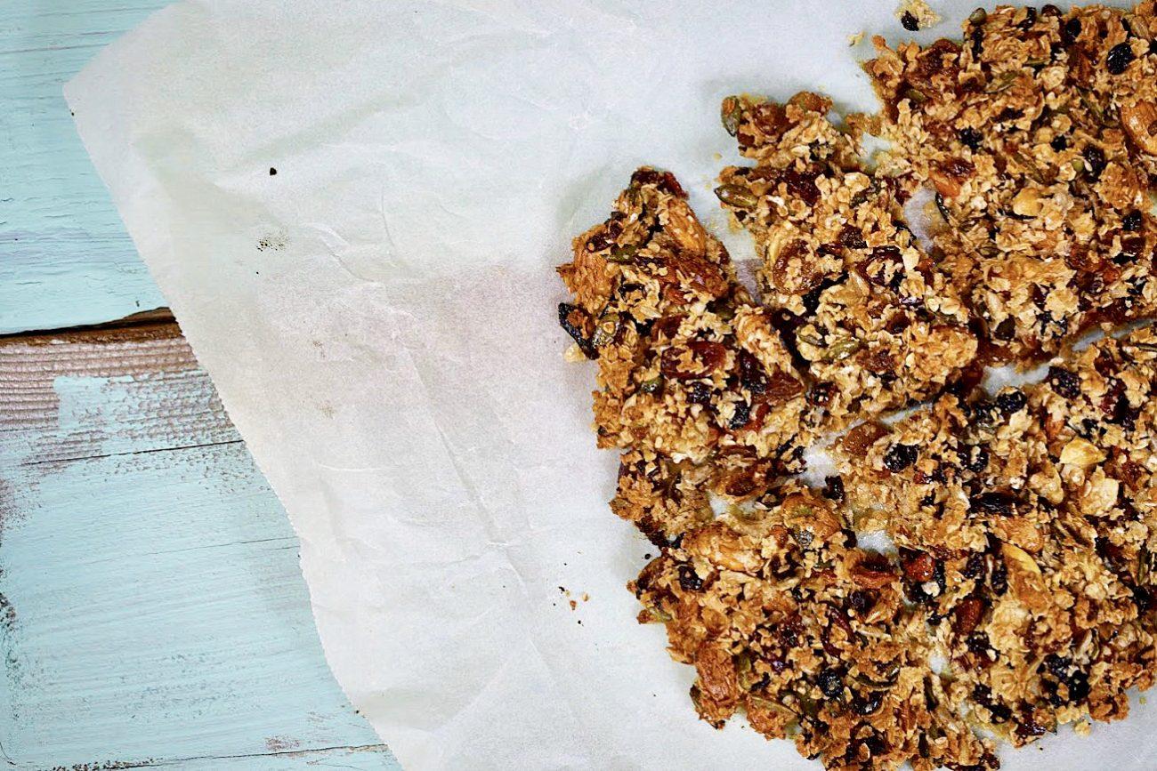 Μπάρες Δημητριακών 3 υλικά σε 15 λεπτά