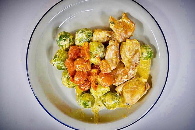 Κοτόπουλο αλα κρεμ σε 15 λεπτά