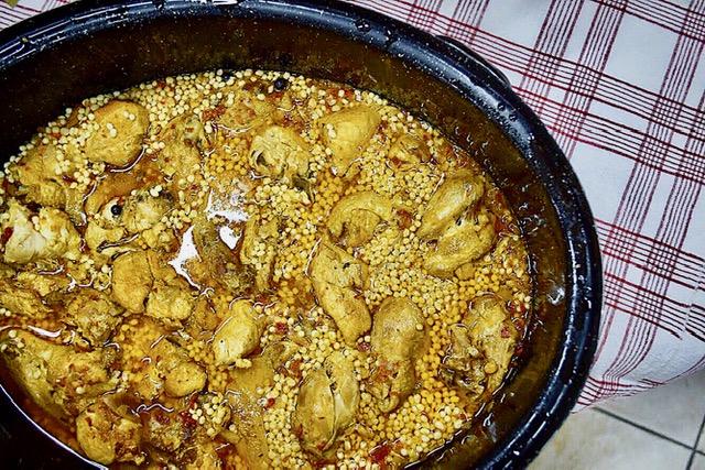 Κοτόπουλο με κουσκούς
