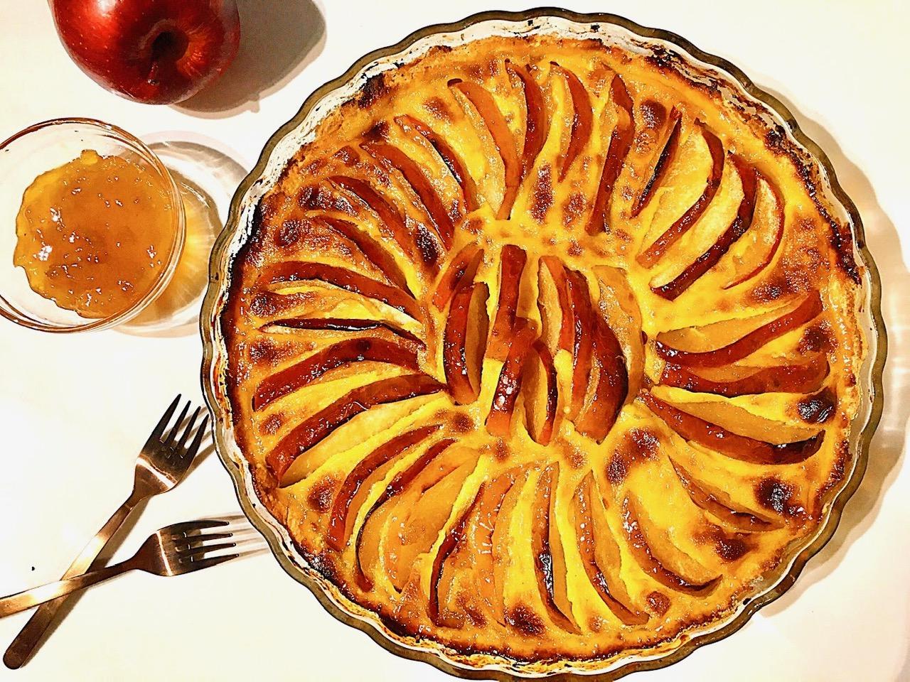 Γαλλική Τάρτα Μήλου