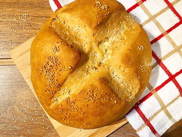 Ψωμί βασική συνταγή