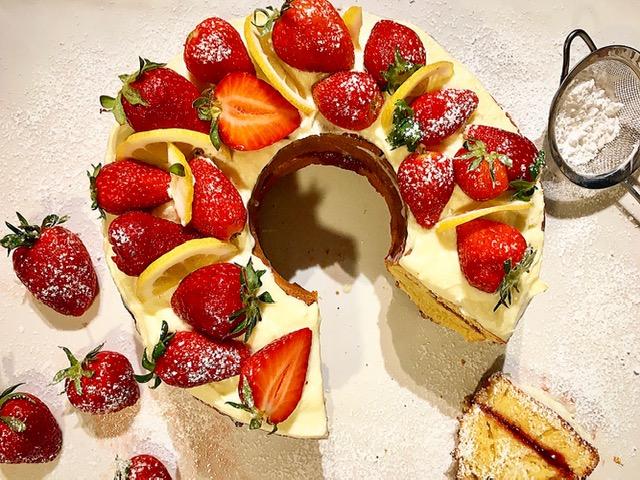 Κέικ Φραουλένιο