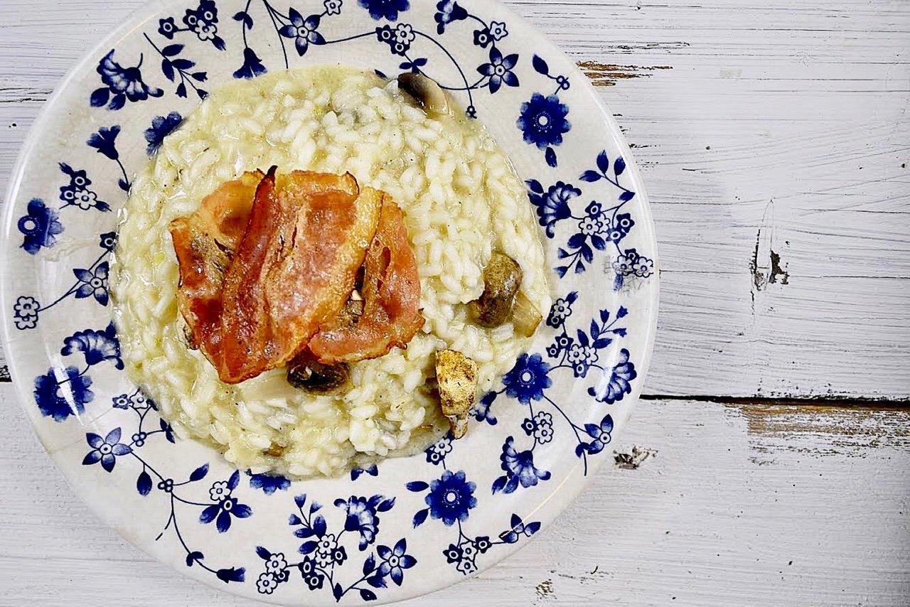 Ριζότο με μανιτάρια σε 15΄ λεπτά
