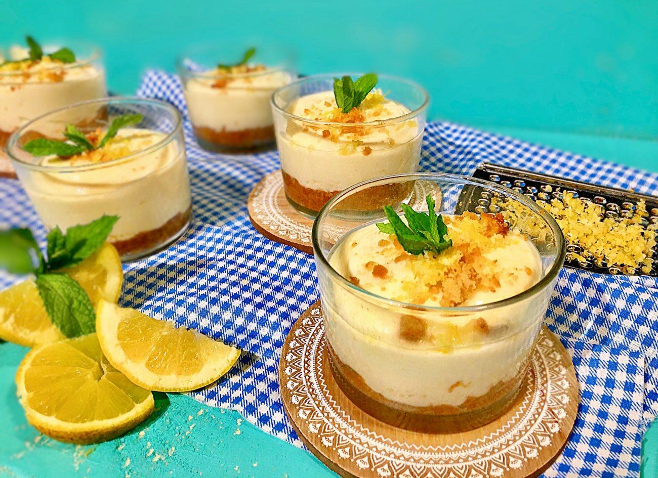 Γλυκό λεμόνι με γιαούρτι
