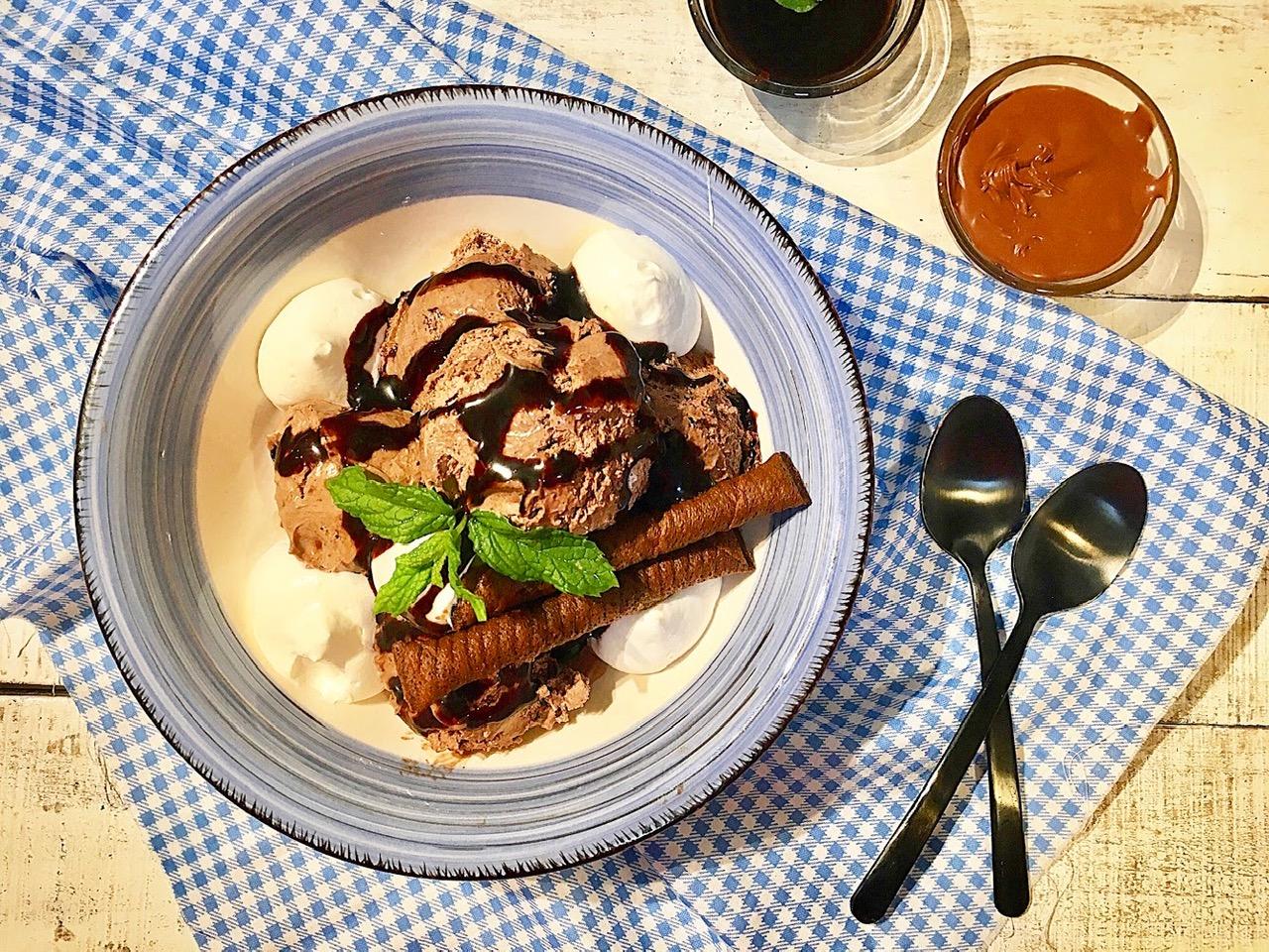 Παγωτό Nutella σε 10′ λεπτά