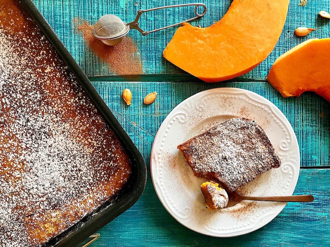 Γλυκιά πίτα με κολοκύθα σε 30′ λεπτά