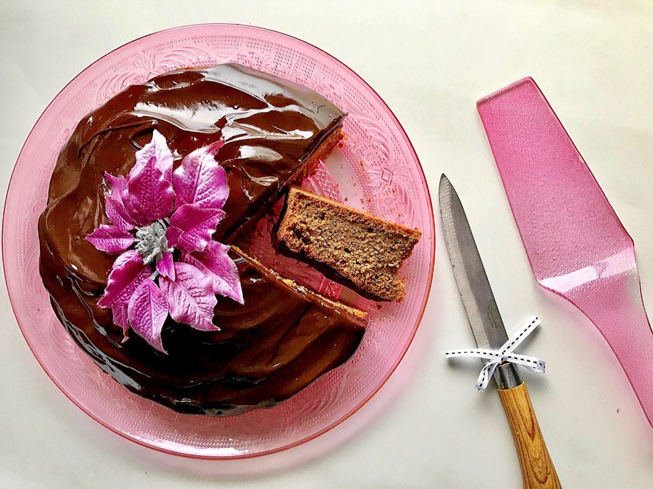 Βασιλόπιτα με γλάσο σοκολάτας | για διαβητικούς