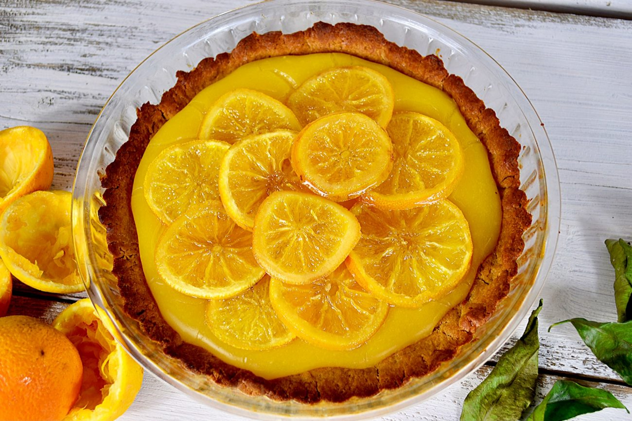 Τάρτα κανέλας με πορτοκάλι
