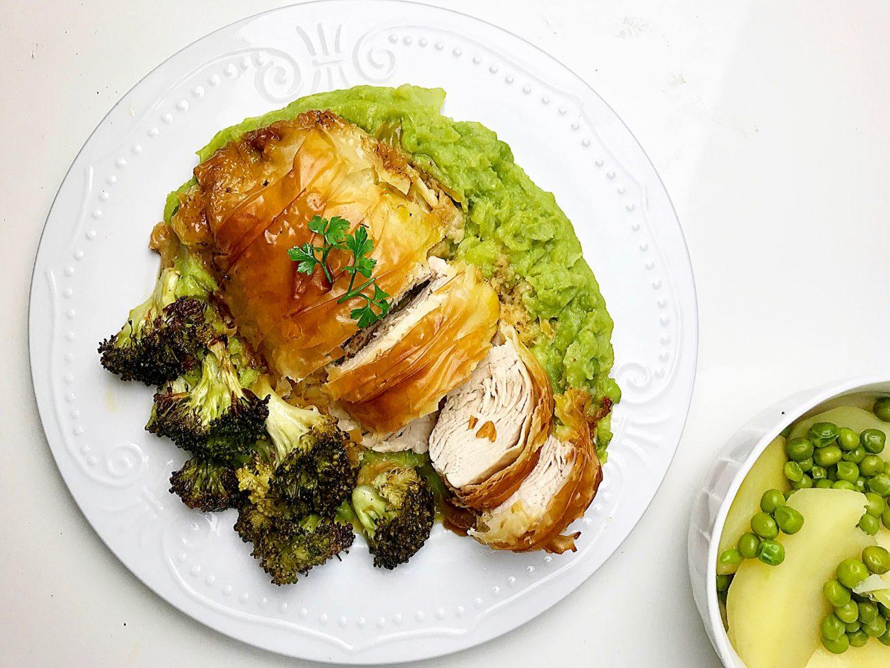 Υγιεινό ρόλο κοτόπουλο