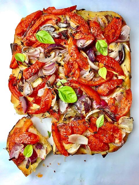 Λαδένια|Ελληνικό ζυμάρι για πίτσα
