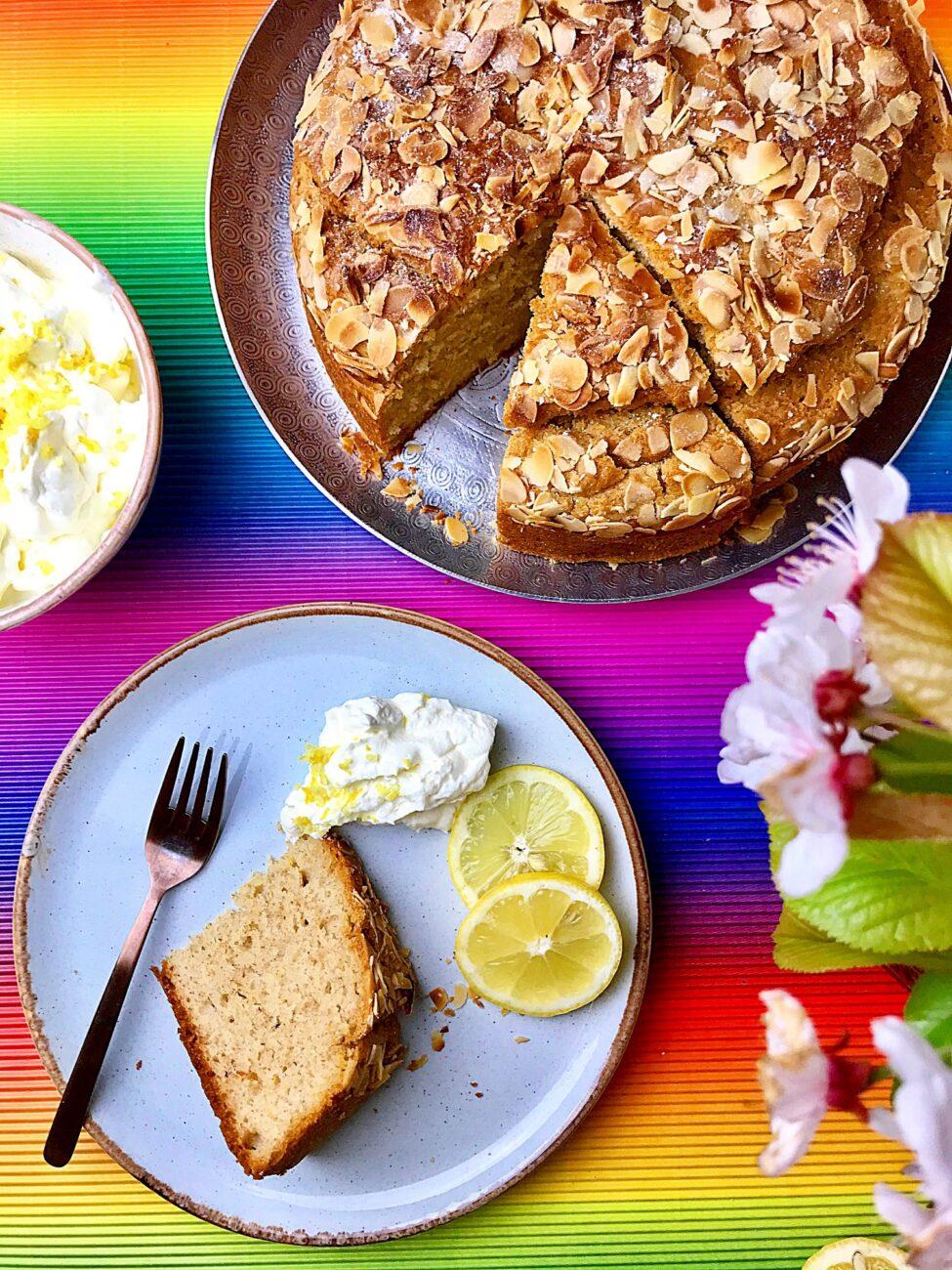 Εύκολο κέικ λεμόνι|Χωρίς ζάχαρη