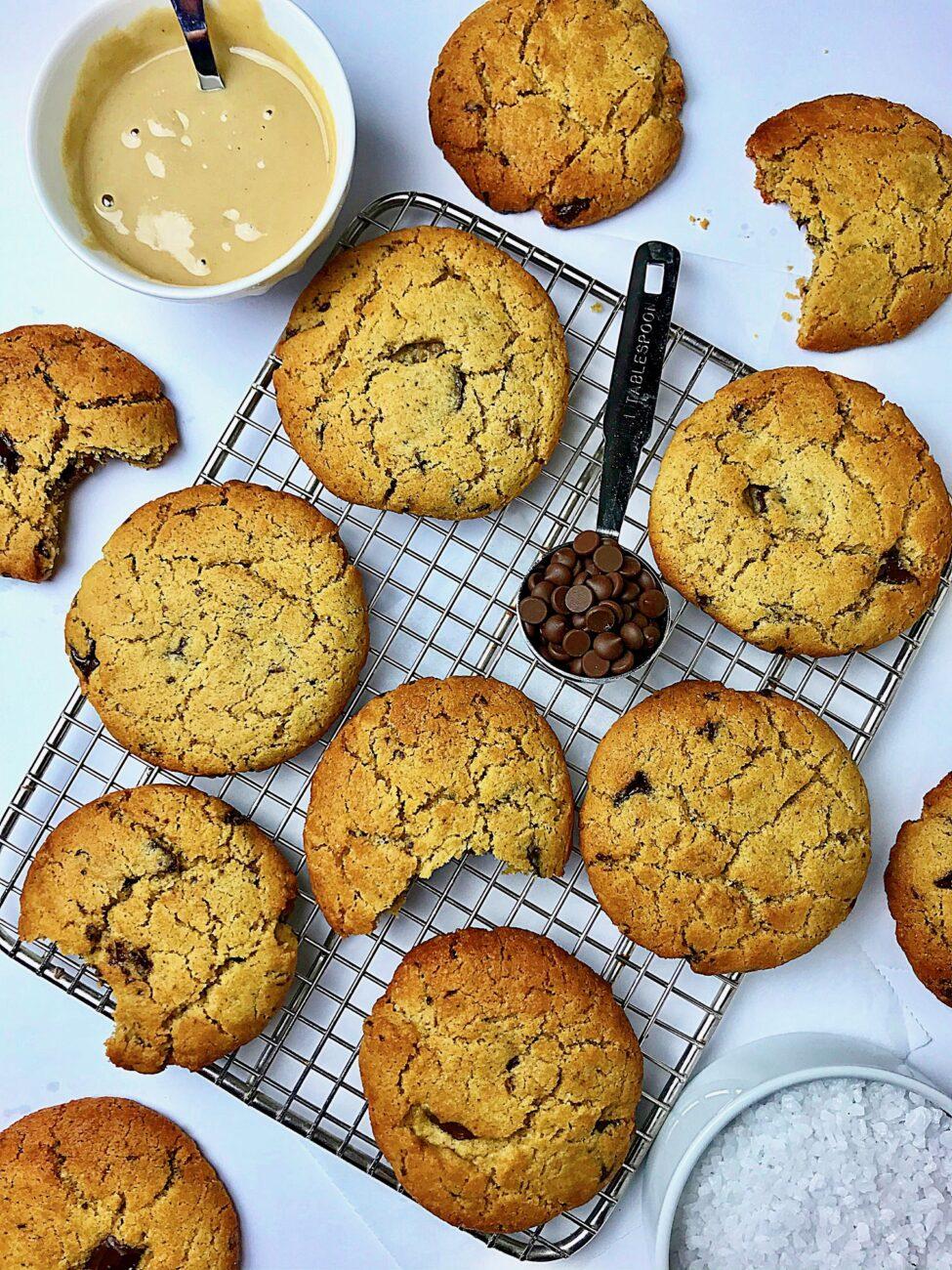 Μπισκότα νηστίσιμα με ταχίνι
