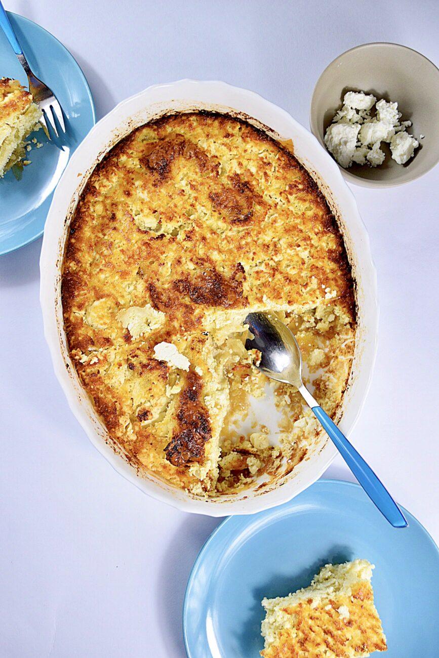 Πατσαβουρόπιτα με τυρί