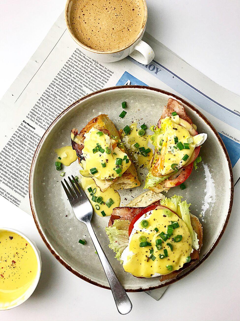Αυγά μπένεντικτ (Eggs Benedict)