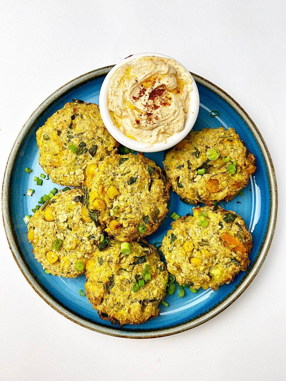 Μπιφτέκια λαχανικών|Χωρίς αυγά στο φούρνο
