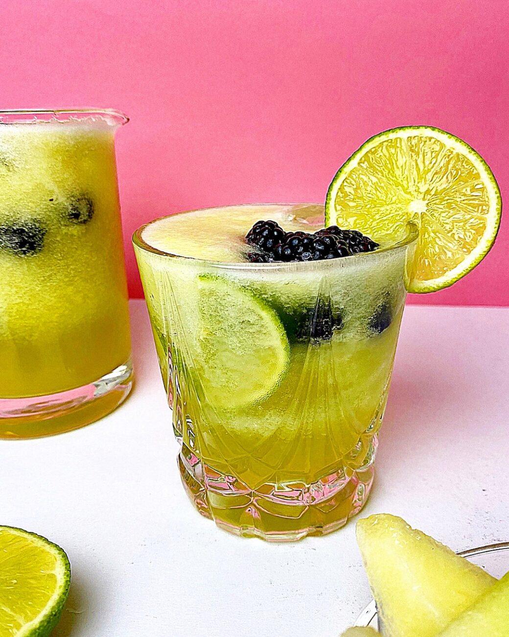 Mocktail με πεπόνι (Χωρίς αλκόολ)